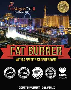 Fat Burner with Appetite Suppressant 30 count label
