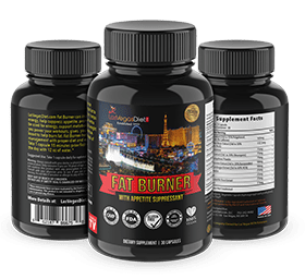 Fat Burner with Appetite Suppressant 30 count, lose weight fast, diet, best weight loss pills, LasVegasDiet.com